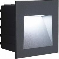 Светодиодный светильник Feron LN013 встраиваемый 3W 4000K, IP65, серый 41175