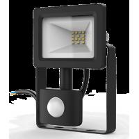 Прожектор светодиодный Gauss LED 10W IP65 6500К с датчиком движения