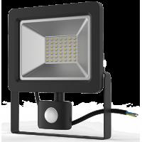 Прожектор светодиодный Gauss LED 50W IP65 6500К с датчиком движения
