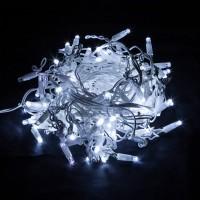 Праздничная гирлянда Бахрома 100-101 , Белый 3*0,6м IP65