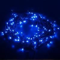 Праздничная гирлянда Нить 400-001 Голубой 5м IP20
