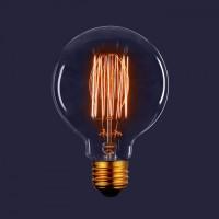 Декоративная лампа накаливания ES-G80-F2