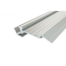 Профиль алюминиевый для ступеней с резиновой вставкой LC-PDS-1867-2 Anod