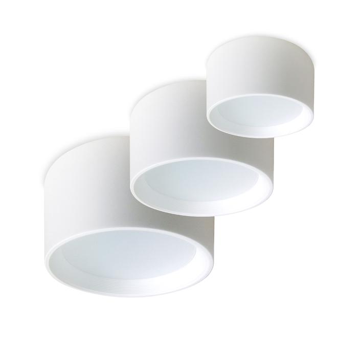 Комплект накладных потолочных светодиодных светильников